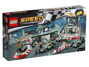LEGO SPEED CHAMP.:MERCEDES F1 TEAM CHAMPIONS - COSTRUZIONI