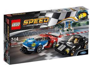LEGO SPEED CHAMPIONS:FORD GT E GT40 CHAMPIONS - COSTRUZIONI