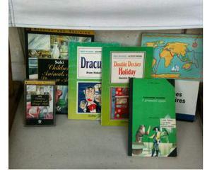 Libri in lingua inglese e francese