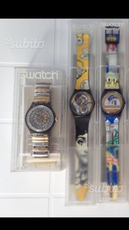 Orologi Swatch da collezione e altre marche