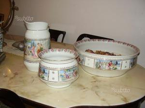 Set da bagno in ceramica