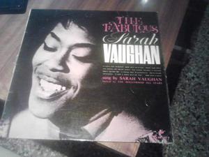 The Fabulous SARAH VAUGHAN~UK Society LP