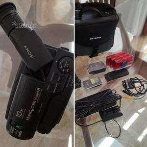 Videocamera Sony 10x Handycam video 8