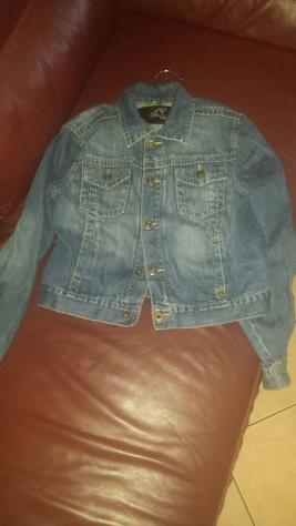giubbotto di jeans euro 10 abbigliamento bimbo Fascia di