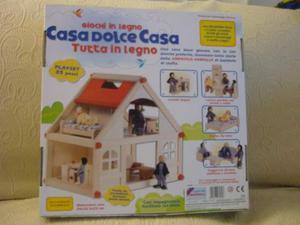 Casa dolce casa in legno