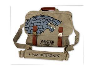 Game of thrones stark fabric messenger bag borsa