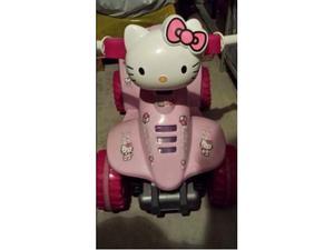 Hello Kitty. Quad a batterie