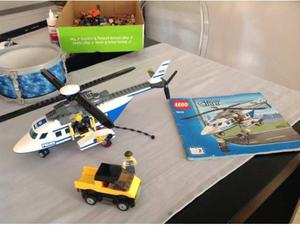 Lego city set  elicottero polizia