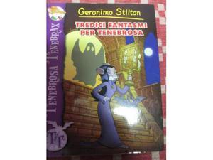 "Libro ""Tredici fantasmi per Tenebrosa"" di Geronimo"