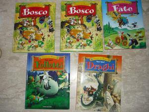 Serie di libri Storie del bosco Tony Wolf, Dami Editore
