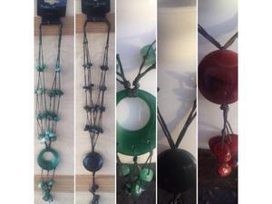 Stock di 120 collane con pietre dure vari colori