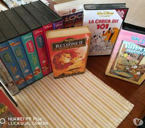 Videocassette VHS Disney e altro