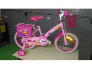 Bicicletta Hello Kitty rosa per bambina