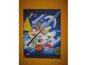 Copia ad olio su tela di Kandinsky