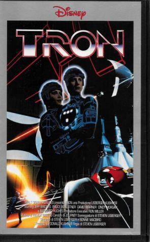 "Tron (Film in videocassetta VHS) ""NUOVO"""