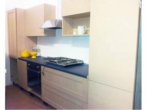 Cucine Moderne Bombate. Cucina Art Dec In Legno Scuro Con Isola ...
