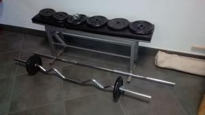 panca e pesi