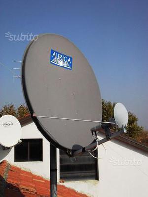 Antenna parabolica 100 cm + accessori