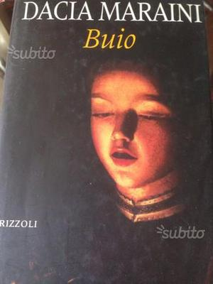 Buio Dacia Maraini Rizzoli cartonato