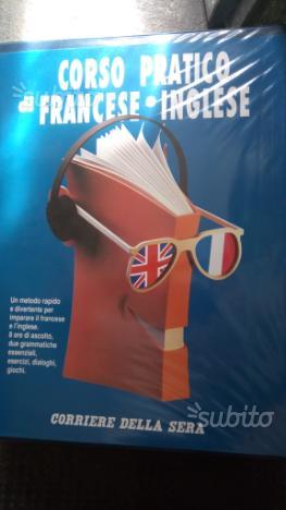 Corso di Inglese e Francese in 8 audiocassette