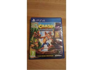 Crash bandicoot n sane trilogy ps4 playstation 4 come nuovo