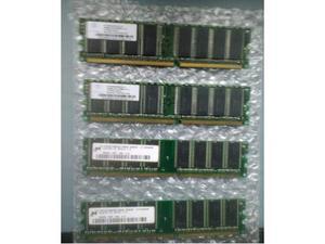 Kit di 9 RAM PC DDR 400 CL3 low density