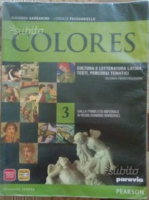 Letteratura latina: COLORES 3