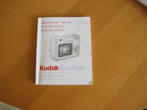 Manuale istruzioni KODAK Easy Share C330.