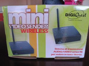 Mini video sender wireless