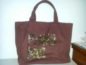 Pinko bag marrone in tessuto
