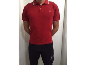 Polo Fred Perry rosso uomo tg. s