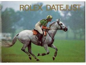 Rolex Booklet Libretto Men's & Ladies Datejust English