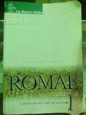 Romae 1 corso modulare di latino