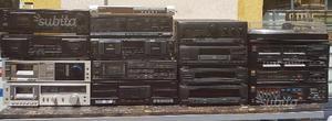 Stock materiale Hi-Fi vintage