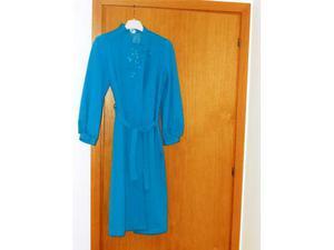 Vestaglia da camera celeste per donna tg.46