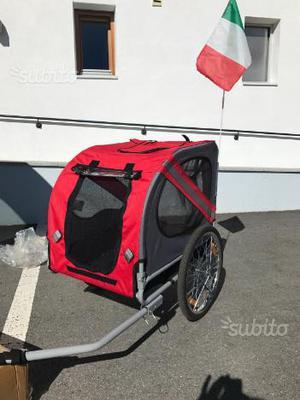 Carrello bici per cani