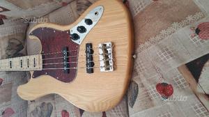 Fender jazz Bass FRETTLES copy