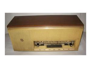 """Radio marca """"superla"""" in legno e bachelite xx sec"""