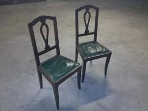 Vendo 2 sedie di fine '800