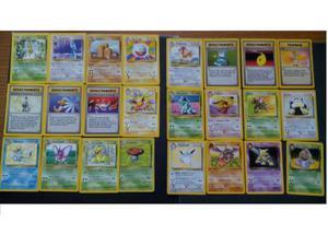 Carte rare Pokemon da Set Base a Neo Revelation