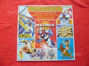 Disco Lp MazingaZ  Gundam Jeeg Robot Ken Falco