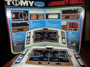 Gioco elettronico tomy basket-ball electronic
