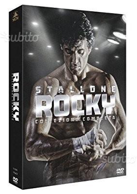 Rocky tutti i 6 film in bluray cofanetto completo