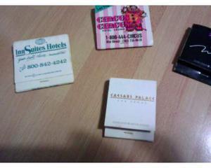 Stock/lotto 4 scatole di fiammiferi-las vegas