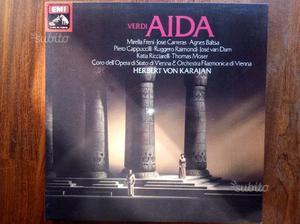 Verdi Aida EMI 3 dischi MUTI Freni Carreras Baltsa