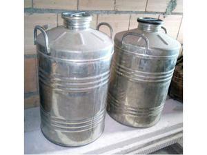 Bidone contenitore 50 litri per olio