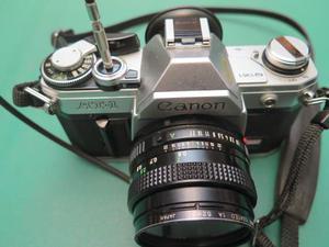 Canon at1 + canon fd 50mm f1.8
