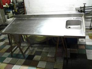 Lavandino nuovo in acciaio inox con una vasca posot class - Lavandino cucina una vasca ...