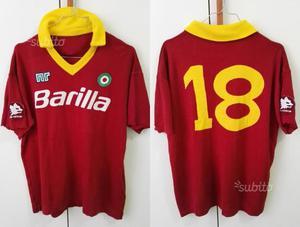 Maglia calcio roma  vintage n°18