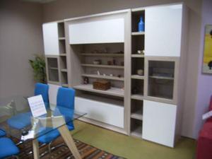 Mobile parete soggiorno tv libreria posot class - Mobile libreria a parete ...